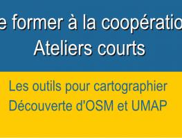 Les outils pour cartographier – modules courts –  Formation coopération