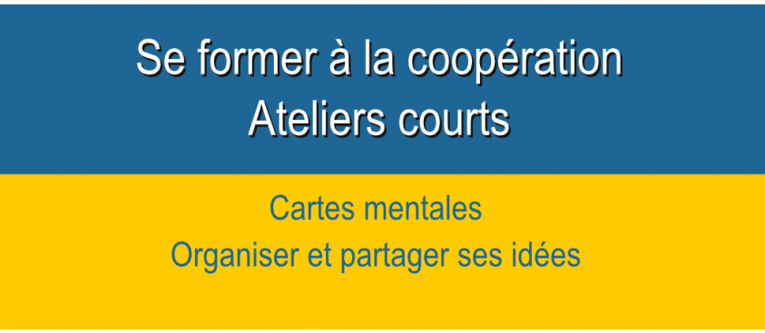 Cartes mentales – modules courts –  Formation coopération